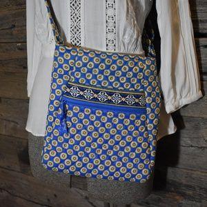 Vera Bradley Riviera Blue Crossbody Bag